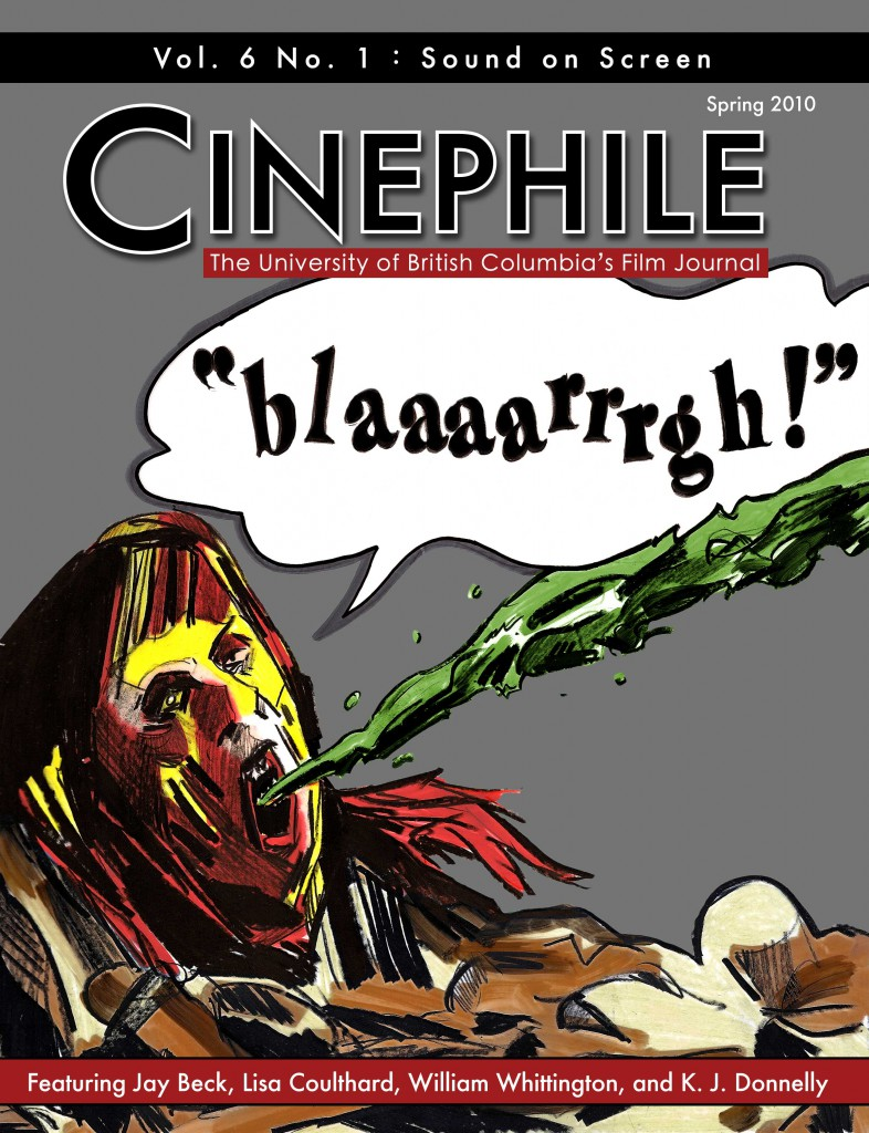 Cinephile Vol. 6, No. 1: Sound on Screen