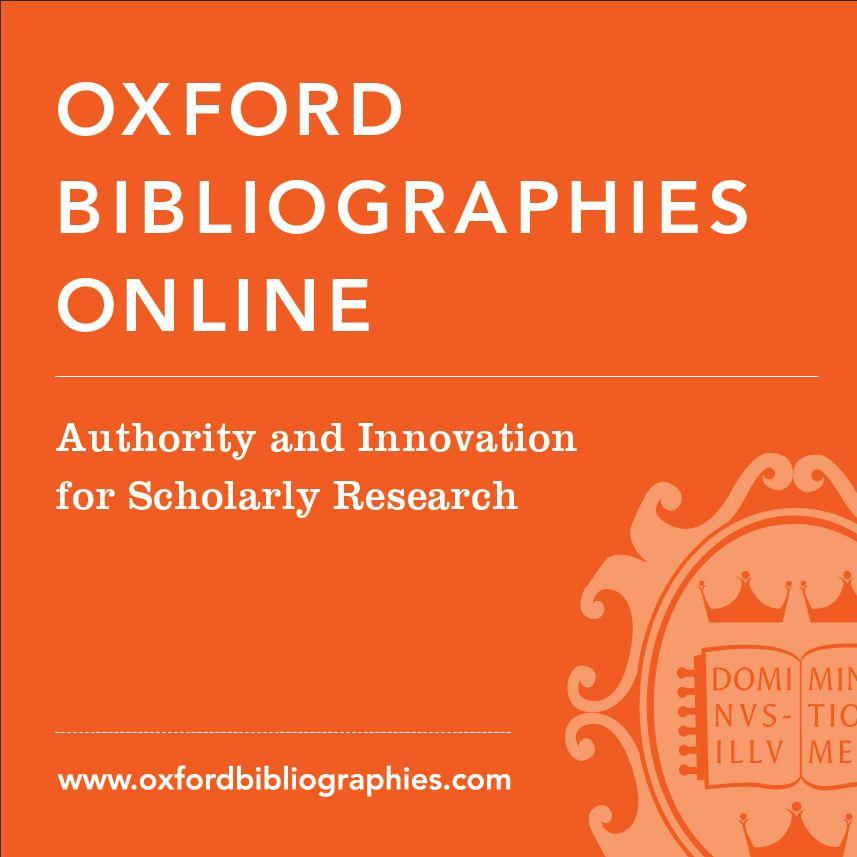 Oxford Bibliography: Steven Soderbergh